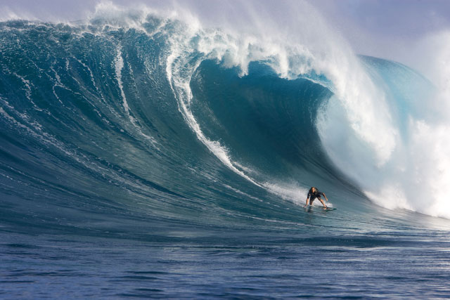 Laird at Jaws